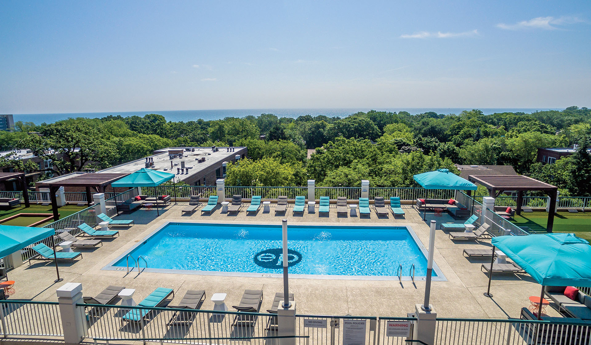 Evanston Place Apartments available in Evanston, IL - Pool